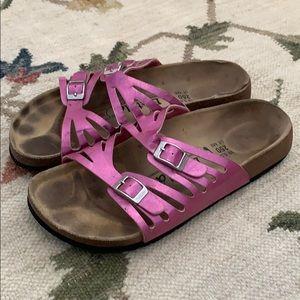 COPY - Birkenstock Betula pink Sandals